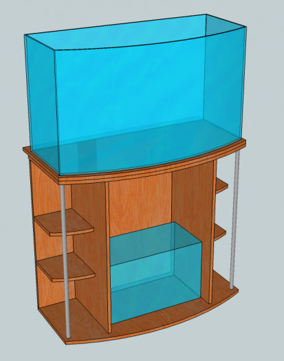 The basic design of the stand