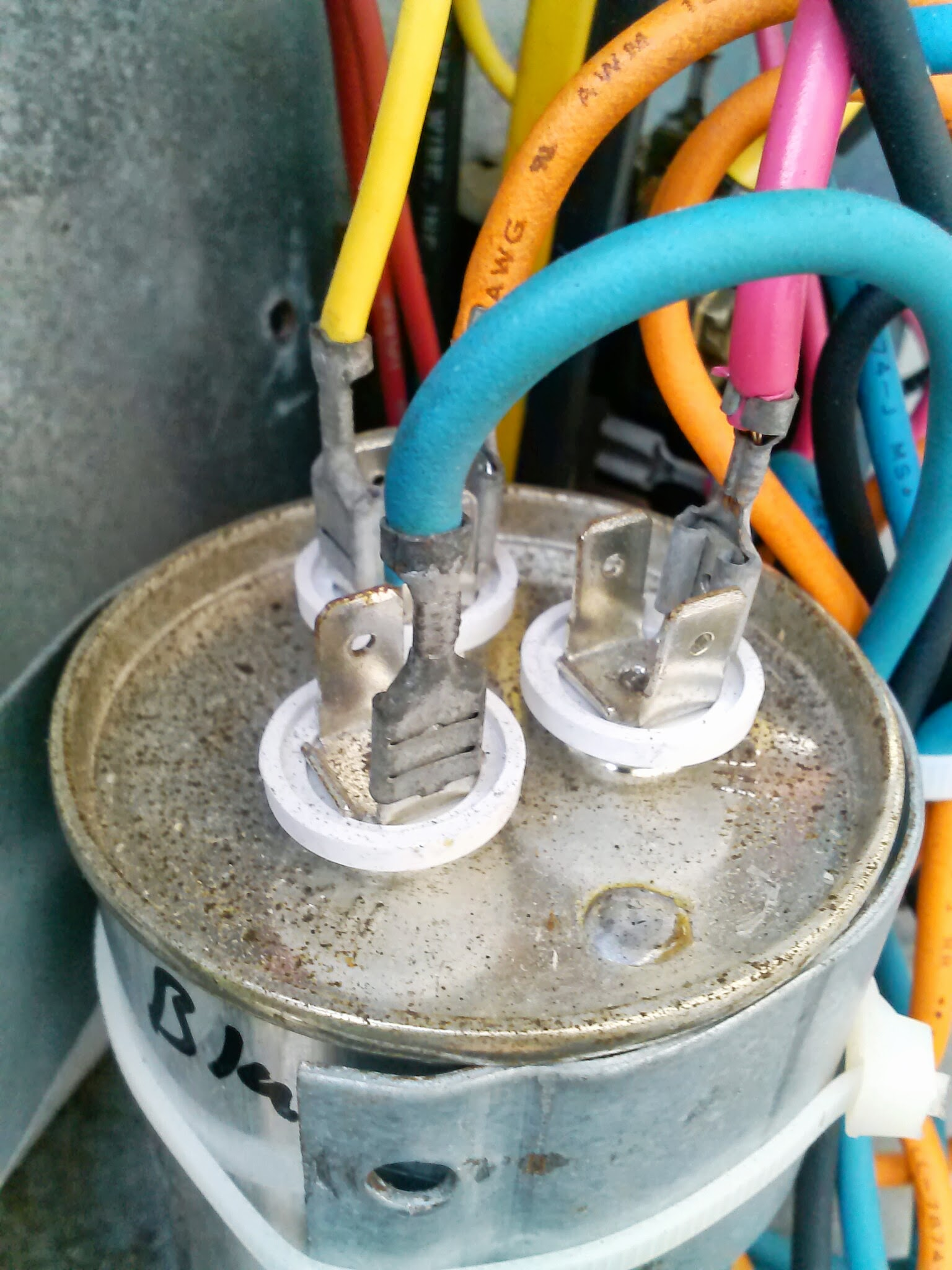 Central Ac Not Cooling Planet Hernando Diy Projects Hvac Capacitor Wiring